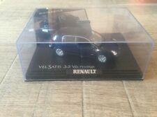Norev 1/43 Renault Vel Satis 3.5 V6 blue dealer edition no paper box