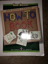 Cub Scout How To Book BSA Guide