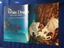 THE WHITE DRAGON: PROMOTIONAL POSTER - ILLUSTRATION BY MICHAEL WHELAN