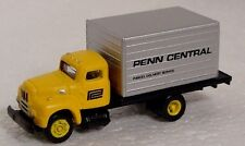 `N scale CMW custom Penn Central railroad delivery truck vehicles