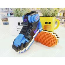 Brand New Royal Air Jordan 1 Sneakers Lego Building Blocks Bricks