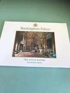 Buckingham Palace The State Rooms.Ten Postcards In Pack Commemorating Opening 94