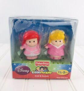 Fisher Price Little People Ariel Aurora Disney Princess NEW Toy