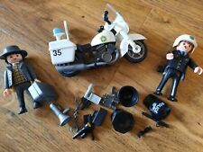playmobil police and thief