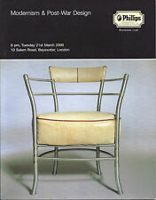 Modernism & Post-War Design/Phillips, 2000-Eames, Sottsass, Bayer, Breuer & more
