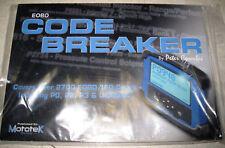EOBD Code Breaker - Diagnostic Fault Codes Motek