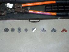Thomas Amp Betts Lug Compression Crimper Model Tbm8 With 8 Dies