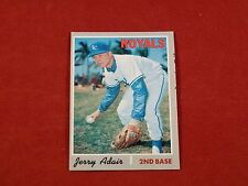 1970 topps #525 ROYALS JERRY ADAIR  NM Condition