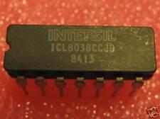 ICL8038CCJD, INTERSIL, WAVEFORM GENERATOR / VCO, 1 EACH