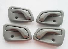 For 99-05 Suzuki Vitara XL-7 Inside Inner Gray Left Right Side Door Handle 1Set