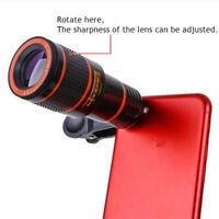 Mobile Phone Telephoto Lens 12X Zoom Telescope Camera Lenses For iPhone Samsung