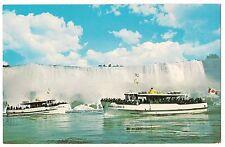 MAID OF THE MIST American Waterfalls Vintage Postcard Niagara Falls NY Canada