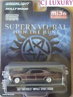 Greenlight 1:64 Supernatural 1967 Chevrolet Impala Sport Chrome Edition 51222