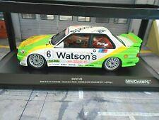 BMW M3 E30 DTM Macau Winner 1991 #6 Pirro Winner Giua Watsons Minichamps SP 1:18