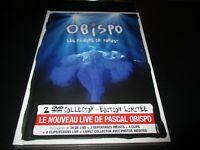 """COFFRET COLLECTOR 2 DVD-LIVRE NEUF """"PASCAL OBISPO : LES FLEURS DE FOREST"""""""