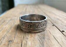 Barbados one dollar coin ring - Barbados - Ring from Barbados coin - Barbados