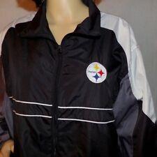 Pittsburgh Steelers NFL Dunbrooke SI Zip Up Windbreaker Jacket size XXL (New )