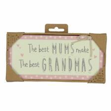 Novelty Plaque Gift - Vintage Design - Grandma 61162