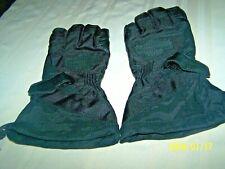 HARLEY DAVIDSON Black Poly Leather Gloves Mens Large genuine full size
