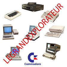 Ultimate Commodore Computers Operation, Repair Service Manuals  Pdfs manual DVD