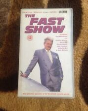 Vintage Collectable Comedy VHS Video Cassette THE FAST SHOW SERIES 3 PART 1