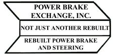 Power Brake Booster Pwr Brake Exchg 71834