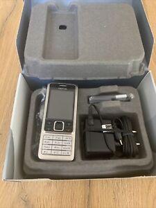 Nokia  6300 - Silber (Ohne Simlock) Handy 100% Original!! Neu !!