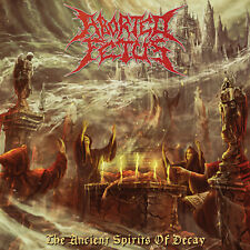 """ABORTED FETUS """"The Ancient Spirits of Decay"""" death metal CD"""