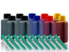 1000ml Nachfüll Tinte für HP 21 22 56 57 78 301 336 337 338 Drucker Patronen