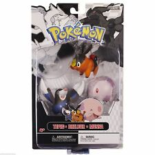 Pokemon Black & White 3 Figure Pack - Tepig, Drilbur & Munna - NEW