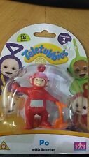 New Red Teletubbies Po with Scooter Collection 1 Free Shipping