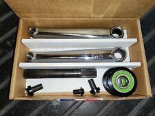 GT Power Series Cromo Old School BMX Cranks Chrome with American Bottom Bracket