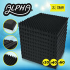 Alpha Acoustic Foam Panels Tiles Studio Home DIY Pro Audio Equipment Sound Proof <br/> ✔Best Offer✔Fast Delivery ✔Top Quality