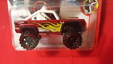 Hot Wheels CUSTOM FORD BRONCO - Red 2016 HW Daredevils 8/10 flames truck offroad
