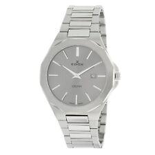 EDOX 71289 3M GIN Men's Delfin Grey Quartz Watch