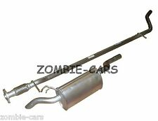 FIAT PUNTO 1.2 EXHAUST REAR SILENCER + CENTRE PIPE SYSTEM 99-06 NEW