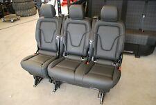 Mercedes V-klasse V-class Lugano Leder 2+1 Sitzbank Bank w 447 Banch seats