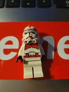 Lego Star Wars shock Trooper Clone  Minifigure sw0091