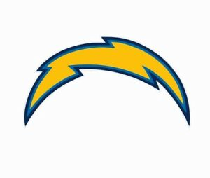 Los Angeles Chargers NFL Football Color Logo Sports Decal Sticker-Free Shipping