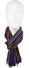 Schal Strickschal Streifen modisch mehrfarbig 100% Wolle (Merino)  R-623