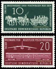 EBS East Germany DDR 1958 Stamp Day Tag der Briefmarke Michel 660-661 MNH**