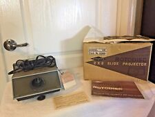 Vintage Sawyer's 2 X 2 Slide Projector Rotodisc Model XR 6365 with original box