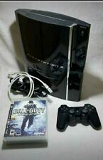 Sony Playstation 3 A01 Backwards Compatible W/ 1 Controller, Cables & 3 Games