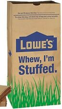 Lowe's Lawn and Leaf Trash Bags 3-Pack Natural Brown Paper Yard Waste 30-gallon