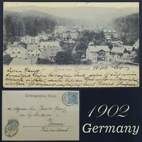 Germany Old Posted Postcard Eichwalde 1902