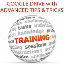 GOOGLE DRIVE and Advanced TIPS & TRICKS - Video Training Tutorial DVD