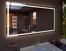 LED Spiegel Modern Line Lichtspiegel viele Größen Badspiegel Maß nach Wunsch