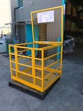 1 x 2 PERSON SAFETY FORKLIFT CAGE - 250kgs SAFE WORKING LOAD