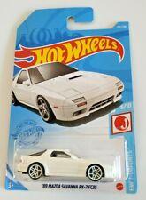 Hot Wheels '89 Mazda Savanna RX-7 FC3S White #176 176/250 2021 HW J-Imports 5/10