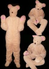 ADULT OVERALL BABYPLUSH sooo soft ** animal Costume **Bear